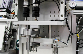 test machines in laboratory