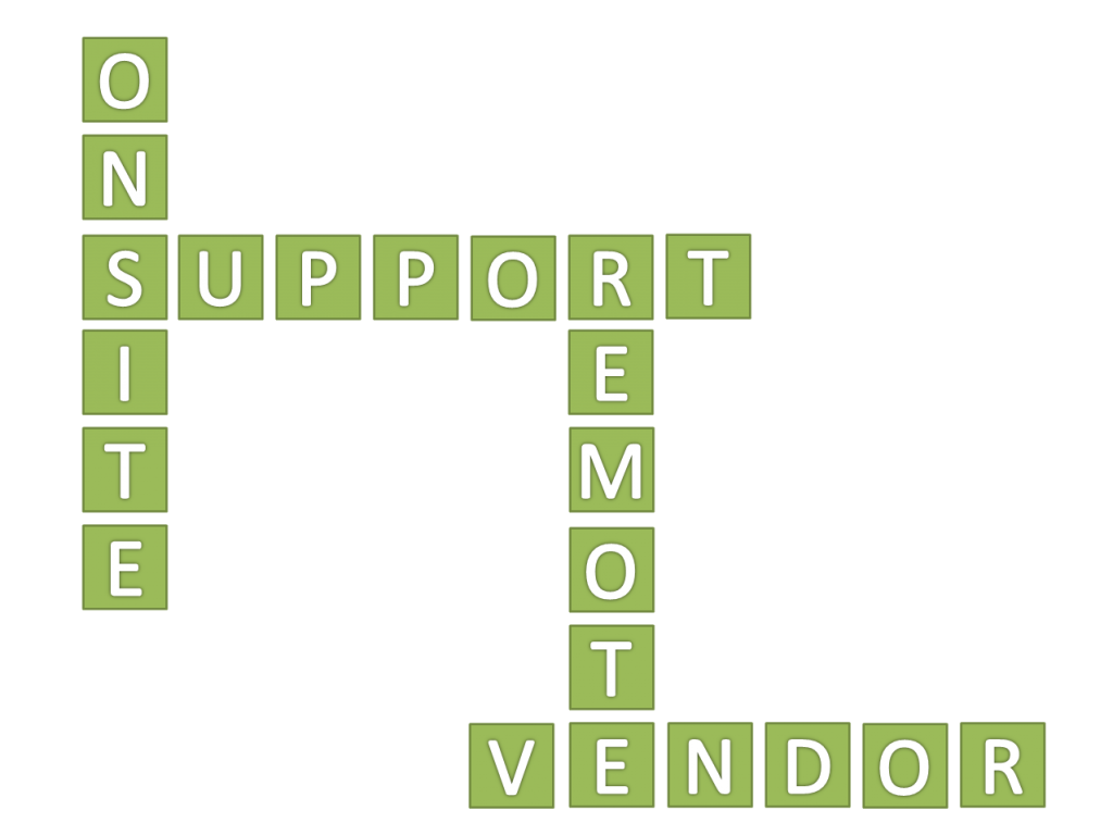 onsite support remote vendor