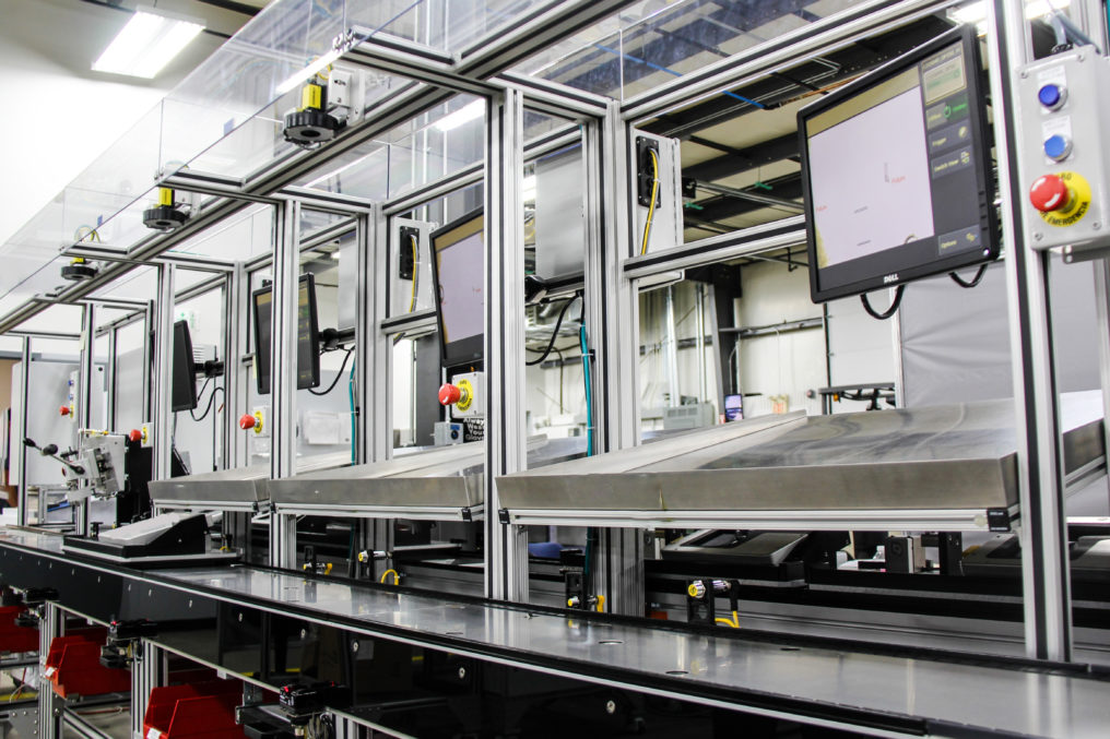 medical device assembly line