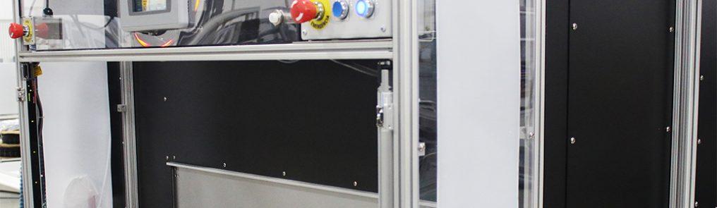 Laserschweißgerät einer Medizingeräte-Montageanlage