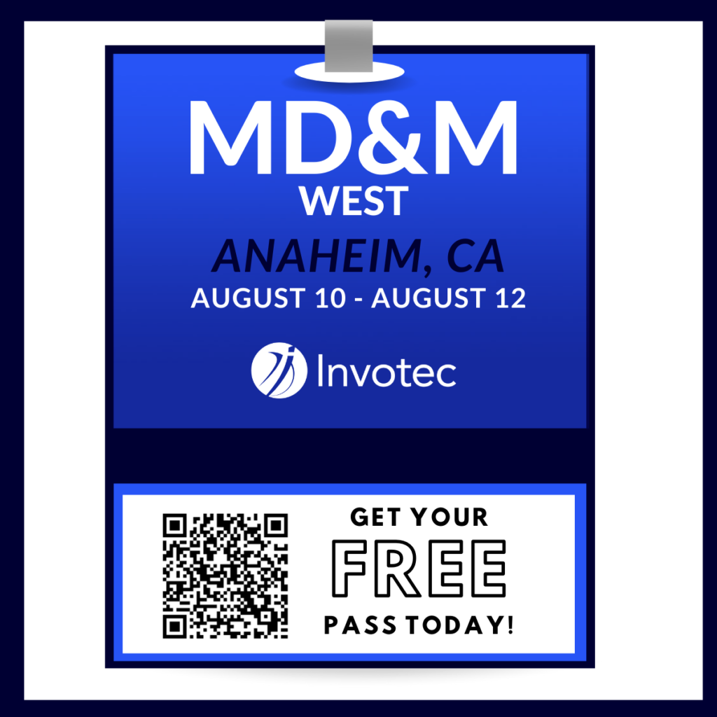 MD&M West tradeshow pass